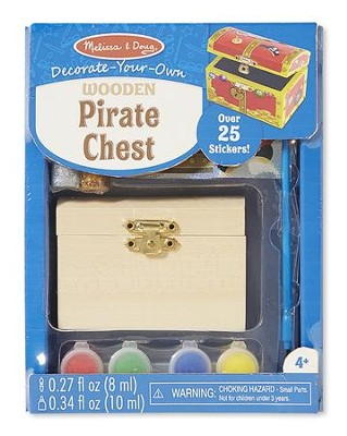 Treasure Chest, Decorate Your Own  -
