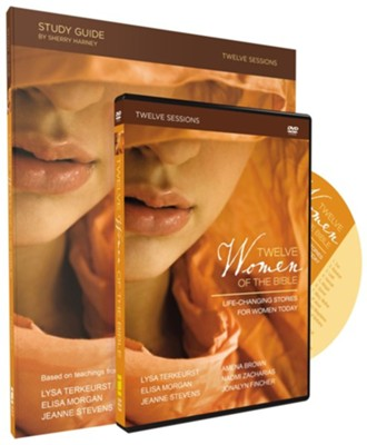 Twelve Women of the Bible Study Guide with DVD: Life-Changing Stories for Women Today  -     By: Lysa TerKeurst, Elisa Morgan, Amena Brown