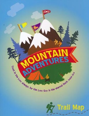 Mountain Adventures Mini-Activity Book  -