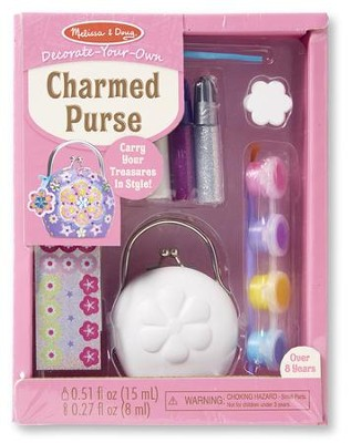 Decorate Your Own, Charmed Purse  -