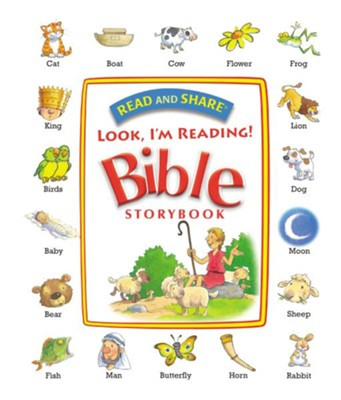 Read and Share Look, I'm Reading! Bible Storybook  -     By: Gwen Ellis