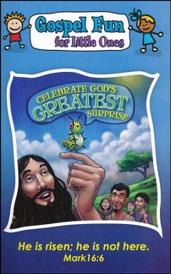 Celebrate God's Greatest Surprise, Gospel Fun for Little Ones Activity Book  -