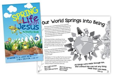 Spring To Life with Jesus Activity Book  -