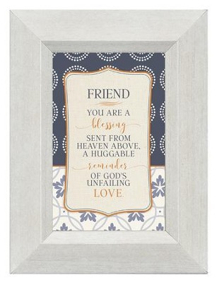 Friend, You are A Blessing, Mini Framed Print  -