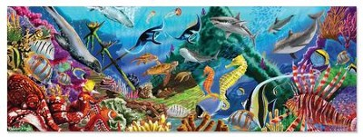Underwater Oasis Floor Puzzle, 200 pieces  -