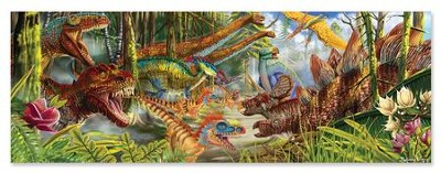 Dinosaur World Floor Puzzle, 200 pieces  -