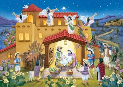 Noche de Paz, Calendario de Adviento  (Holy Night, Advent Calendar)  -