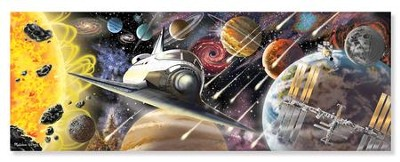 Exploring Space Floor Puzzle, 200 pieces  -