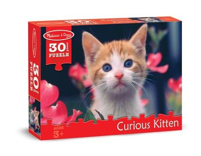Curious Kitten Jigsaw Puzzle, 30 Pieces  -