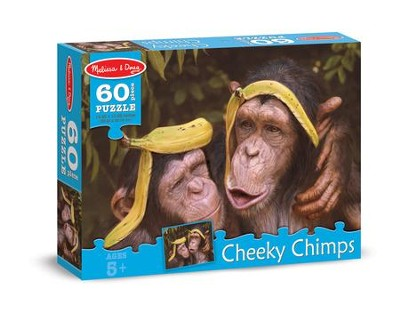 Cheeky Chimps Jigsaw Puzzle, 60 Pieces  -