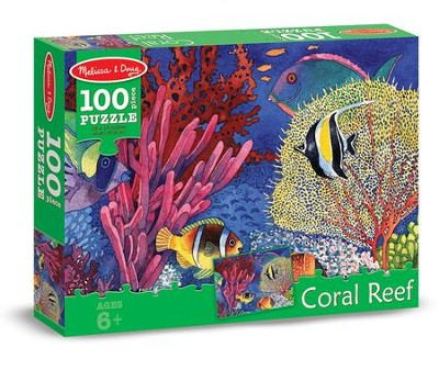 Coral Reef Jigsaw Puzzle, 100 Pieces  -