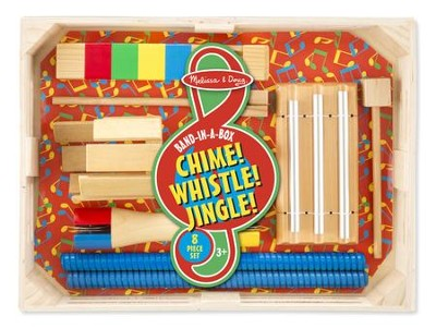Band-in-a-Box, Chime, Whistle & Jingle, 8 pieces  -