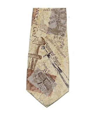 Armor of God Silk Tie   -