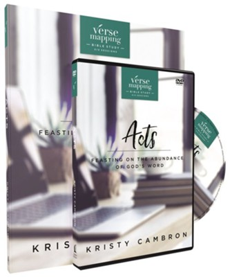 Verse Mapping Acts with DVD: Feasting on the Abundance of God's Word  -     By: Kristy Cambron