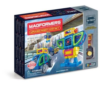 Magformers Walking Robot Car, 45 Piece Set  -