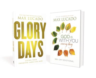 Glory Days/God Is with You Everyday Devotional, 2 Volumes  -     By: Max Lucado