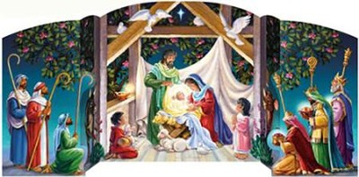 Visiting the Manger Advent Calendar  -