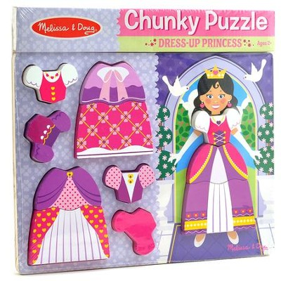 Princess Chunky Puzzle, 11 Pieces  -