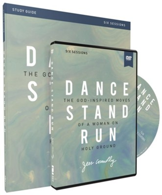 Dance, Stand, Run Study Guide with DVD: The God-Inspired Moves of a Woman on Holy Ground  -     By: Jess Connolly