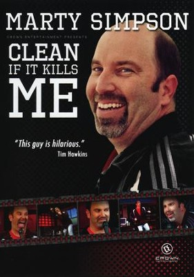 Clean If It Kills Me, DVD   -     By: Marty Simpson