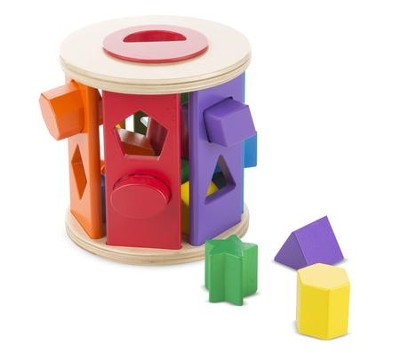 Shape Sorting Drum  -