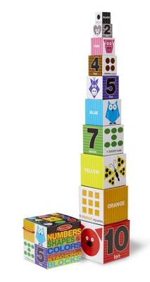 Numbers, Shapes, and Colors--Stacking & Nesting Blocks   -