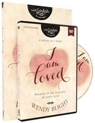 I Am Loved: Walking in the Fullness of God's Love Book with DVD  -     By: Wendy Blight & InScribed