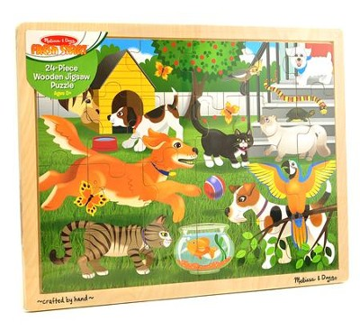 Pets Jigsaw Puzzle, 24 Pieces  -