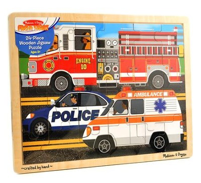 To The Rescue! Jigsaw Puzzle, 24 Pieces  -