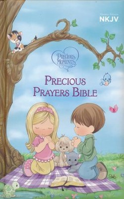 NKJV Precious Moments Precious Prayers Bible, Padded Hardcover  -