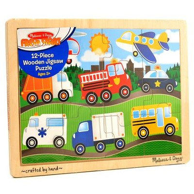 On the Road Jigsaw Puzzle, 12 Pieces  -