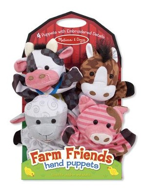 Farm Friends Hand Puppets  -