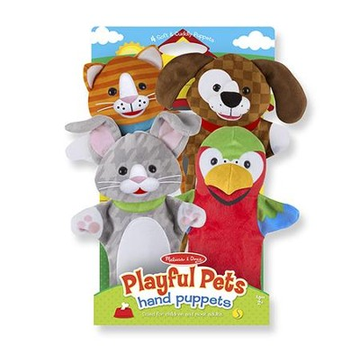 Playful Pets Hand Puppets  -