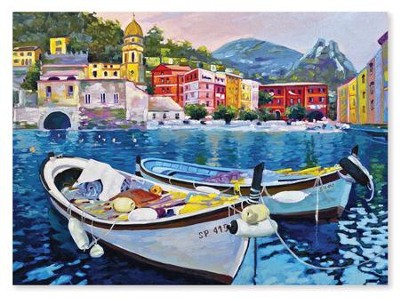 Tranquil Harbor 1500 Piece Jigsaw Puzzle   -