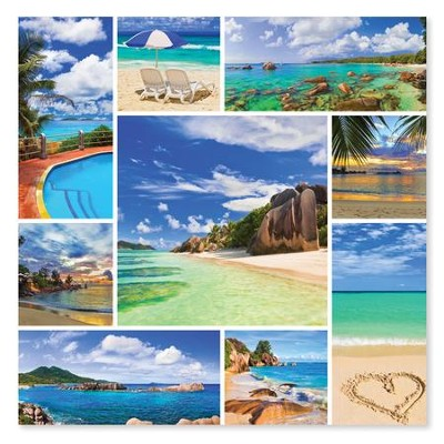Photos from Paradise 1000 Piece Jigsaw Puzzle   -