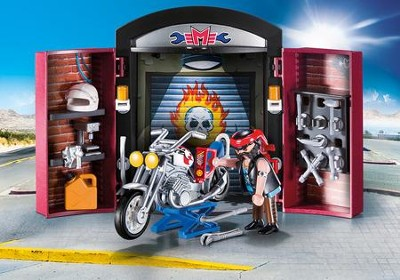 Bike Shop Play Box  -
