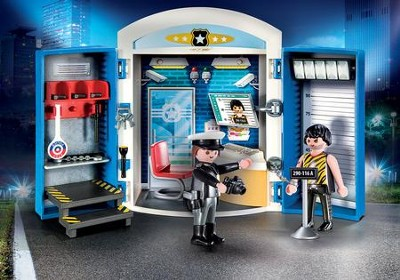 Police Station Play Box  -