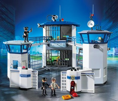 Police Headquarters with Prison  -