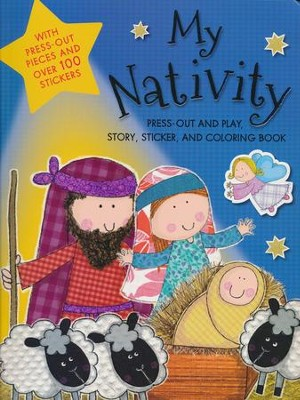 My Nativity Activity Book  -