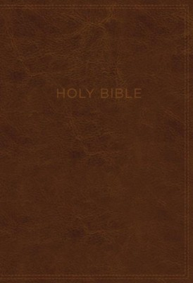 KJV, Know The Word Study Bible, Imitation Leather, Black and Brown,  -