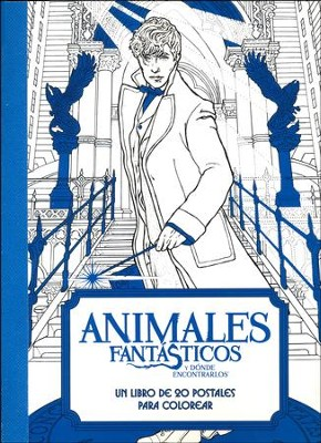 Animales Fantasticos y Donde Encontrarlos, Tarjetas Postales  (Fantastic Beasts and Where to Find Them, Postcards Book)  -