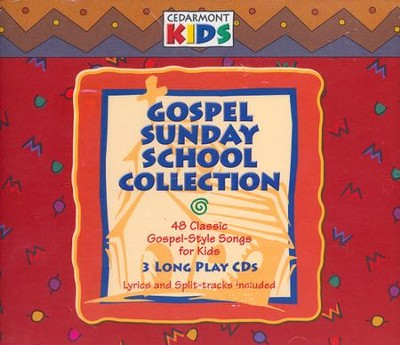 Gospel Sunday School Collection - 3 CD Set   -     By: Cedarmont Kids