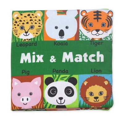 Mix and Match, Cloth Book  -