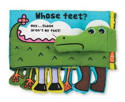 Whose Feet?, Cloth Book  -