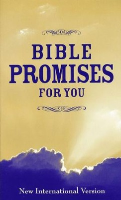 Bible Promises for You, NIV, CBD Exclusive   -