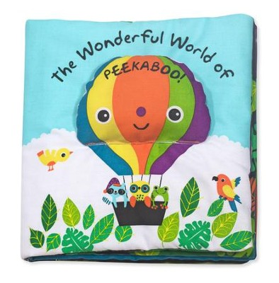 The Wonderful World of Peekaboo, Cloth Book  -