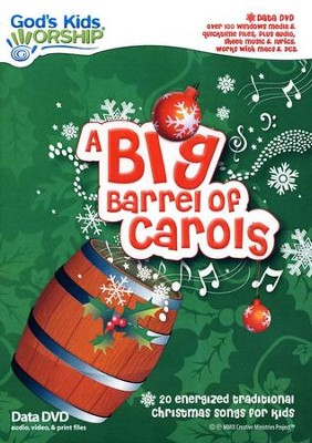 A Big Barrel of Carols, DVD-ROM   -