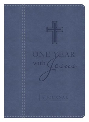 One Year with Jesus Journal: Daily Encouragement from the Words of Christ  -     By: James Davey