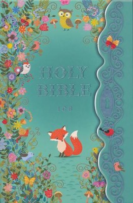 The ICB Blessed Garden Bible, Hardcover  -