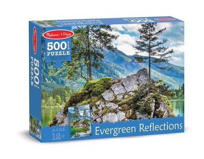 Evergreen Reflections Puzzle, 500 Pieces  -